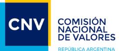 Comisión Nacional de Valores República Argentina